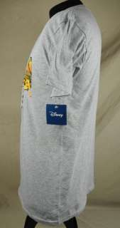 Florida Mickey Mouse Minnie Pluto Goofy Shirt Medium Grey NWT