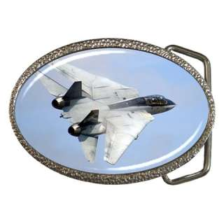 14 Tomcat Fighter Jet Belt Buckle