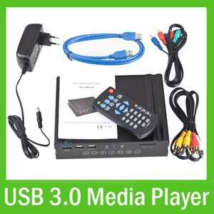 1080P 3.5 SATA HDD Hard Drive Multi Media Player MKV Hdmi VGA