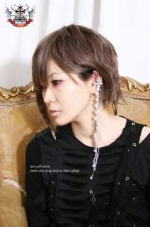 Gothic Lolita Professor Eyeglasses Chain+Ear Cuff Cameo