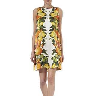 STELLA MCCARTNEY Citrus print silk dress