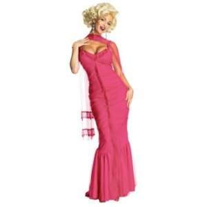 Marilyn Monroe Long Pink Costume Dress