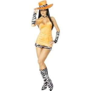 Faschingskostüm Sexy Party Girl Kostüm Pimp Lady