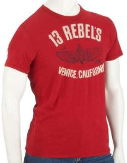 Johnson Motors 13 Rebels MM7013 Herren Shirts/T Shirts: