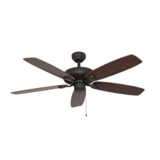 Sahara Fans Charleston 52 in. Energy Star Bronze Ceiling Fan 10032 at