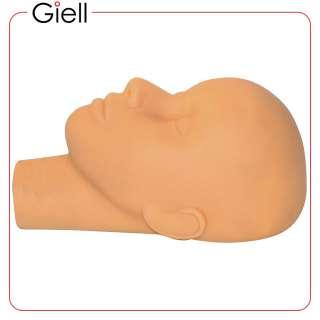 Cosmetology Facial Massage or False Eyelashes Training Mannequin Head