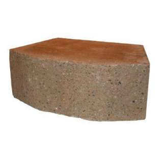 10 in. Concrete Garden Wall Block KK063010100500