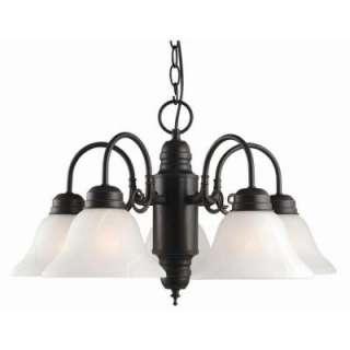 Design House Millbridge 5 Light Oil Rubbed Bronze Chandelier 514455 at