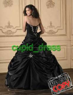 Fashion prom gown ball/Quinceanera evening bridal dress