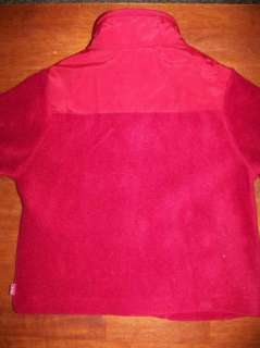 CHILDRENS PLACE NWT fleece coat jacket size 4T toddler boy girl red