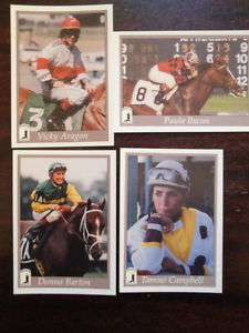1996 HORSE RACING,JOCKEY CARDS, SET(16)FEMALE JOCKEYS