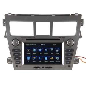 07 10 Toyota Yaris Sedan Car GPS Navigation Radio TV USB MP3 IPOD AUX