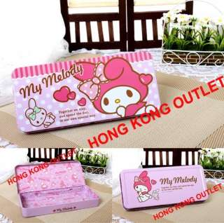 My Melody Metal Pencil Box Case Sanrio Hello Kitty L36b