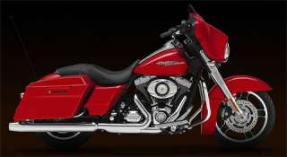 12 Scale 2010 Harley Davidson® FLHX Street Glide Scarlet Red