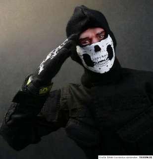 Gesichtsschutz Motorrad Chopper Biker Paintball SKI Maske Face SKULL
