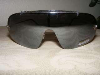 Designer Inspired Black and Silver Frame Sunglasses