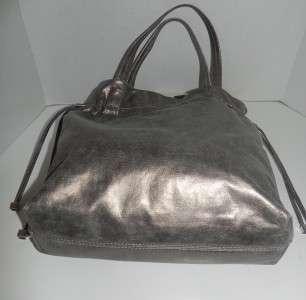 NWT Michael Kors Drawstring Item Tote Nickel Handbag