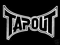 Tapout Decal   Car Window Decal   Huge   UFC   11 x 7