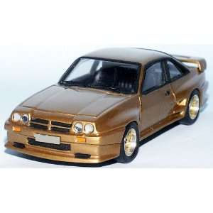 Tin Wizard Opel Manta B MANZEL Fertigmodell ready made gold met