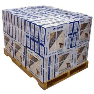 12 1/2 in. Ceramic Floor and Wall Tile (60 cases/659.8 Sq. Ft./Pallet