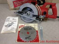NEW MILWAUKEE 7 1/4 WORM DRIVE SAW MODEL 6377 CIRCULAR SAW