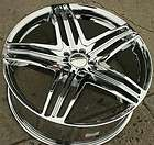 20 GFG PRAHTO 5 WHEELS RIMS MERCEDES S550 CL550 S CL