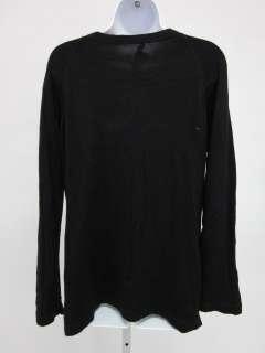 ELIE TAHARI Black Wool Longsleeve Sweater Sz L