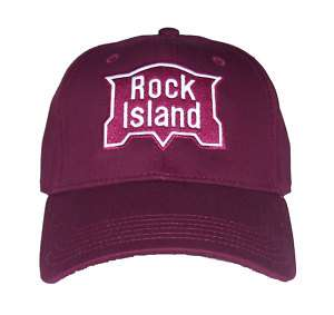 Rock Island Railroad Embroidered Cap Hat #40 0019MM