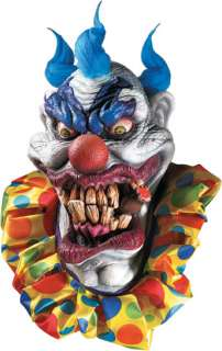 BOOZER EVIL CLOWN SUPER DELUXE OVERSIZED CARTOON MASK