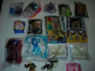Lot of 14 McDonalds Happy Meal Toys  Most NIP