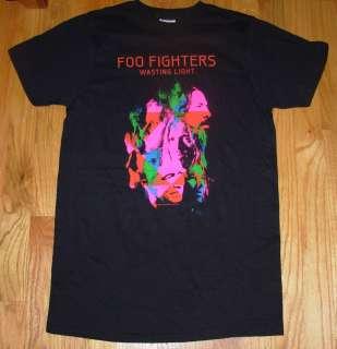 FOO FIGHTERS Black Shirt WASTING LIGHT album Art many sizes