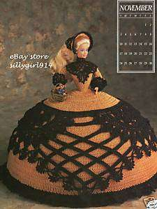 NOV~Fashion Doll Crochet PATTERN~ANNIES ANTEBELLUM