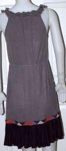 New $108 Free People Ruffle Tank Sexy Cling Dress L