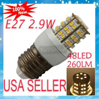 PC E27 16W 86LED 110V Pure White LED Corn Light Bulb