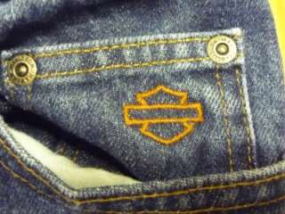 Harley Davidson Motorcycles womens jeans size 10