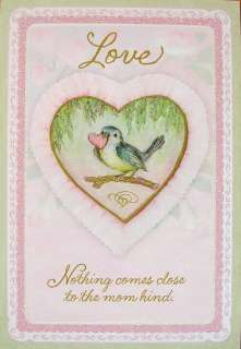 Susan Wheeler Holly Pond Hill Blue Bird Heart Mom Love Valentines Day
