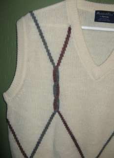 80s Sweater Vest by Arrow Golf Country Club L Preppy
