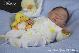 TNGUN ARTIST Reborn Baby Doll MATTHEW PROTOTYPE #2 sculpted by JORJA