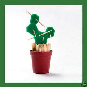 New Toothpick Stand Cactus Dispenser Holder Lovely Gift