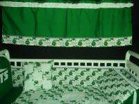 Baby Nursery Crib Bedding Set w/ NY New York Jets NFL