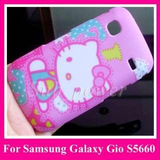Samsung Galaxy Gio s5660 hard Case cover hello kitty PK
