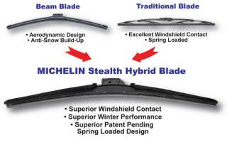 Brand New Design Michelin Stealth Wiper Blade 24
