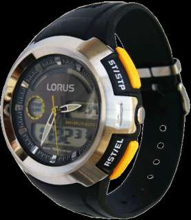 Z012 X001 Lorus Mens Gents Analogue Digital Alarm Watch