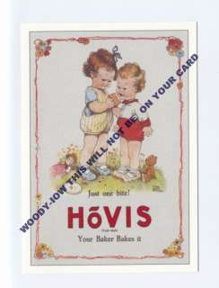 ad354 advert for Hovis bread children eat bread art Mabel Lucie