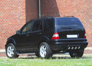 MERCEDES ML W163 FENDER FLARES / WHEEL ARCH EXTENSIONS