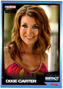 TNA Dixie Carter #20 2011 Signature Impact Silver Parallel Card