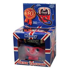 New Paldone Union Jack Henry Desktop Desk Hoover Vacuum Mini Cleaner