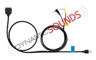 Kenwood KCA IP302 iPod/iPhone lead is compatible with the DNX9280BT