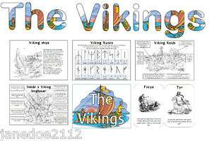 VIKINGS DISPLAY   Heading posters wordmat Primary Teaching Resources
