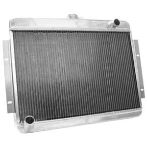 1997 1999 Dodge Dakota radiator w/ transcooler top left bottom right